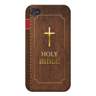 Holy Bible iPhone 4-4s Classic Leather Cover Cover For iPhone 4