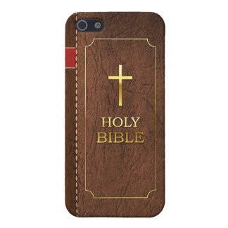 Holy Bible iPhone 5/5S Classic Leather Cover iPhone 5/5S Cases