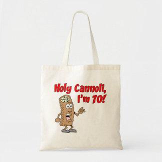 Holy Cannoli I'm 70 Tote Bag