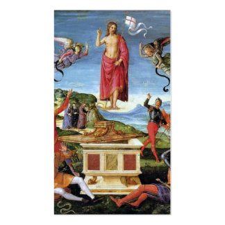 Holy Card: Kinnaird Resurrection Business Card Templates