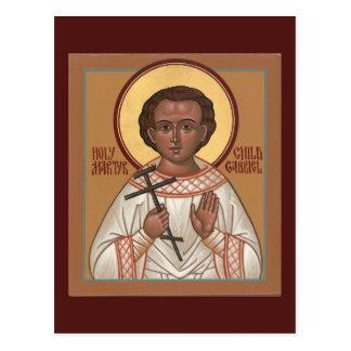 Holy Child Martyr Gabriel Prayer Card
