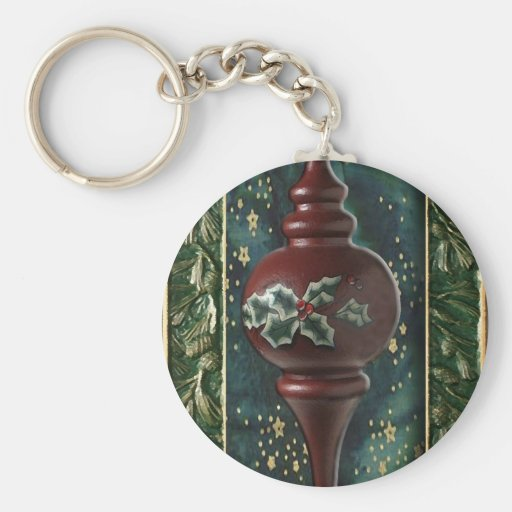 Holy Christmas Tree Ornament Keychains