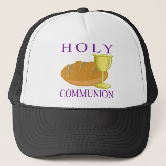 Holy Communication Trucker Hat