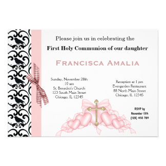 Holy Communion Personalized Invite
