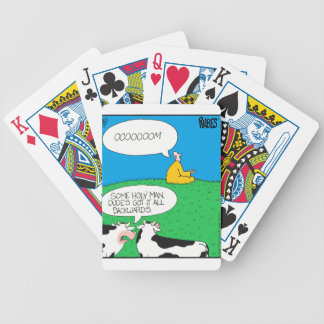 Holy Cow 2017 Zazzle Bicycle Playing Cards