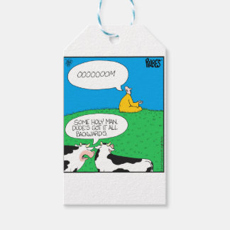 Holy Cow 2017 Zazzle Gift Tags