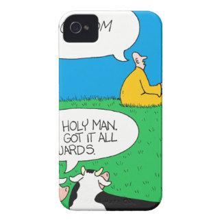 Holy Cow 2017 Zazzle iPhone 4 Case-Mate Case