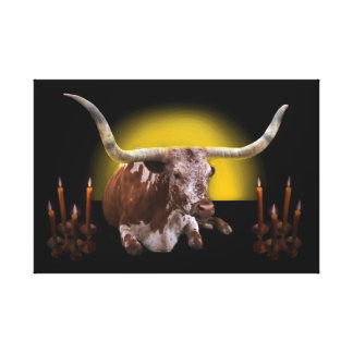 Holy Cow 3: His Royal Radiance Canvas Print
