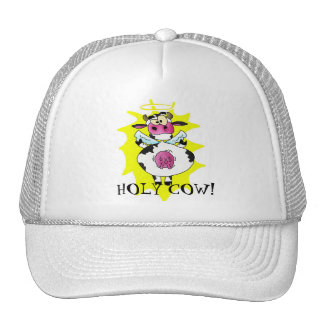 HOLY COW! angel hat
