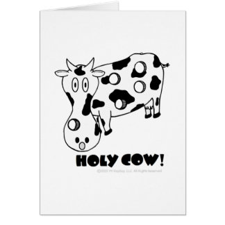 Holy Cow! Birthday Card