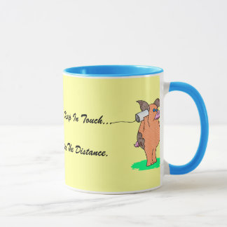 "Holy Cow, ""Friends Keep In Touch"" Mug"