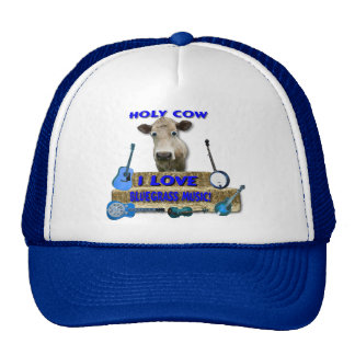 HOLY COW I LOVE BLUEGRASS MUSIC CAP