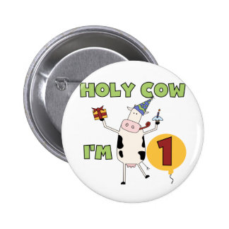 Holy Cow I m 1 Tshirts and Gifts Button
