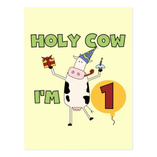 Holy Cow I m 1 Tshirts and Gifts Post Cards