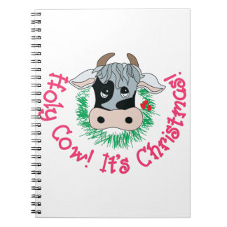 Holy Cow Its Christmas Notebooks