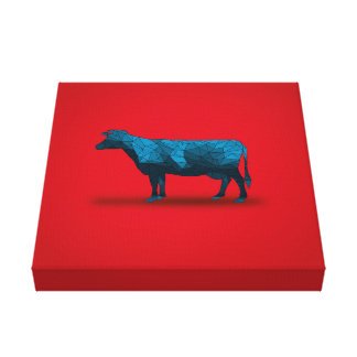 Holy Cow... No.1 Farm Series Gallery Wrap Canvas
