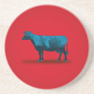 Holy Cow... No.1 Farm Series Sandstone Coaster