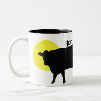 Holy Cow Two-Tone Coffee Mug