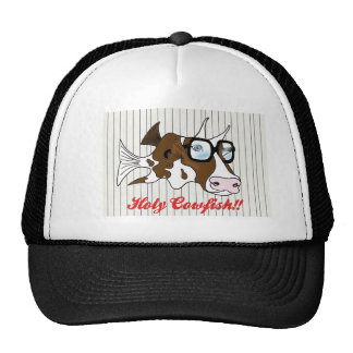 HOLY COWFISH!! MESH HATS