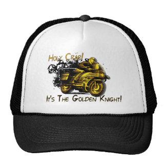 Holy Crap! Golden Knight! Mesh Hat