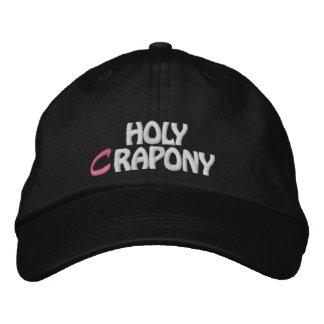HOLY CRAPONY CAP EMBROIDERED CAP