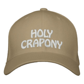 HOLY CRAPONY CAP EMBROIDERED HAT