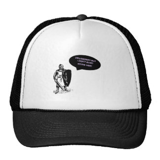 Holy Cross Mesh Hat