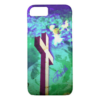 Holy Cross Purple N Green iPhone 7 case