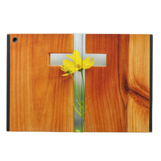 Holy Cross & Wildflower Case For iPad Air