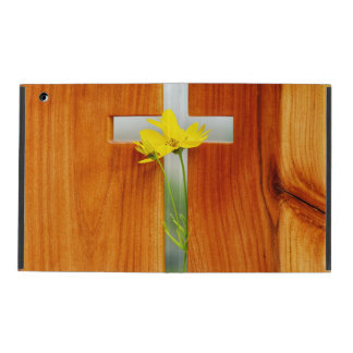 Holy Cross & Wildflower iPad Case