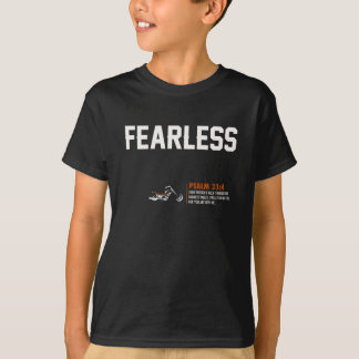 "Holy Discontent ""Fearless"" Brown T-Shirt - Kids"