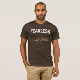 "Holy Discontent ""Fearless"" Brown T-Shirt - Mens"