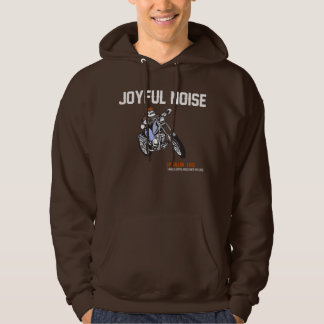 Holy Discontent Joyful Noise Hoodie Brown - Mens