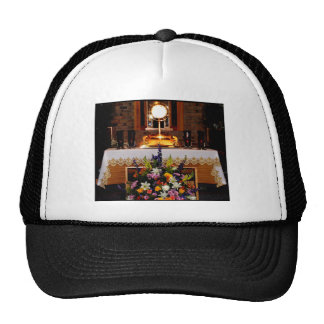 Holy Eucharist / The Blessed Sacrament Trucker Hats