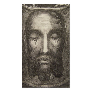 Holy Face of Jesus Devotion Card Business Cards