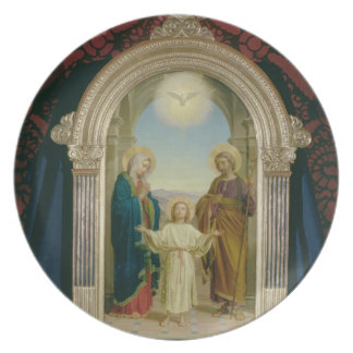 Holy Family, 1898 (tempera on panel) Plate