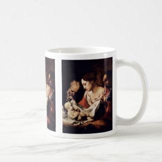 Holy Family By Petrini Giuseppe Antonio Mugs