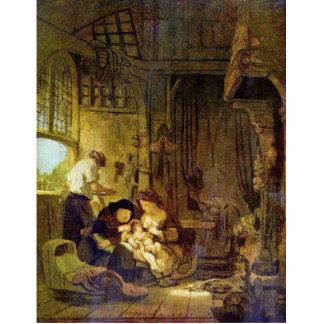 Holy Family By Rembrandt Harmensz. Van Rijn Photo Cutouts