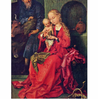 Holy Family By Schongauer Martin Best Quality Photo Sculpture