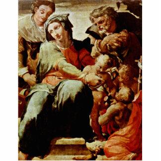 Holy Family, By Tibaldi Pellegrino (Best Quality) Photo Cutouts