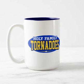 Holy Family Catholic High School; Tornadoes Two-Tone Mug