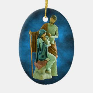 Holy Family Christmas Ornament