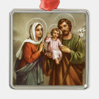 Holy Family Custom Ornament