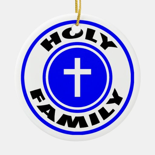 Holy Family Christmas Ornaments