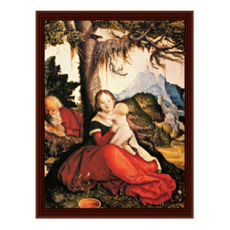 Holy Family In The Open Air Postcards
