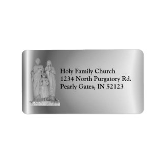 Holy Family ~ label