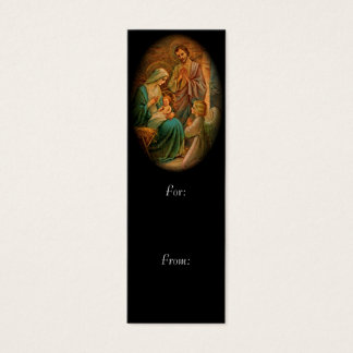 Holy Family Mini Business Card