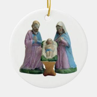 Holy Family Nativity Ornaments