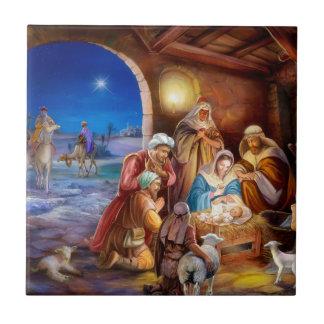 Holy family tile