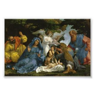 Holy Family with John the Baptist Photograph